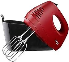 dretec 多利科 【升級款】手持式混音器 5檔切換 / 附帶可收納電源線、攪拌器 打蛋器