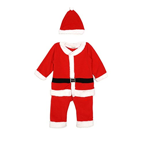Costume surpyjama di Babbo Natale, 12 mesi, 2 anni, 3 anni