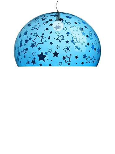 KARTELL Pendelleuchte LED Fl/Y Small Kids Stelle himmelblau