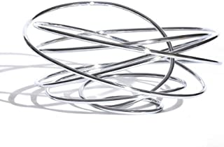 Fruit Loop Bowl by Black and Blum - R122013, Finish: Chromed Steel