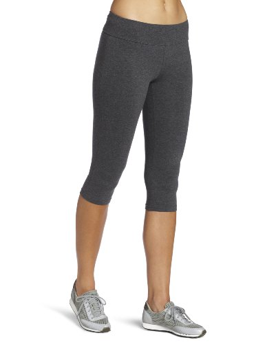 Spalding Women's Capri Legging, Charcoal, Large