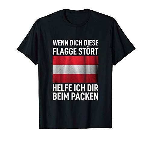 Österreich Flagge Politik - Wenn Dich Diese Flagge Stört T-Shirt