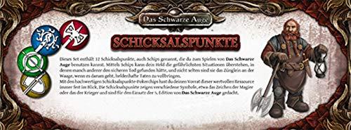 DSA5 Einsteigerbox: Schicksalspunkte-Set (12) (Das Schwarze Auge - Zubehör)
