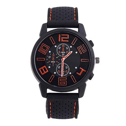 Reloj casual digital grande de los hombres de la moda GT de silicona de la correa del coche de los hombres reloj deportivo con diverso estilo de