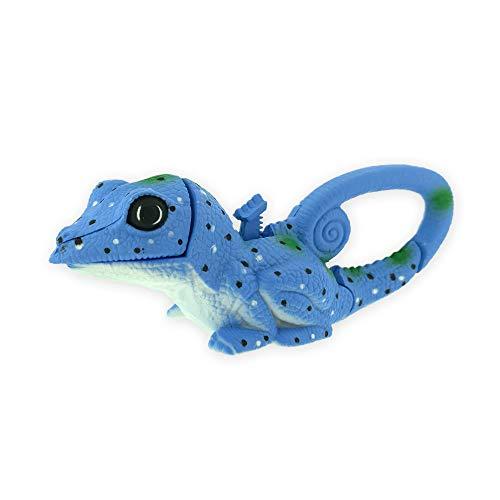 Sun Company Lifelight Animal Carabiner Flashlight | Mini Animal Keychain Flash Lights | for Kids, Nurses, Camping (Blue Lizard)