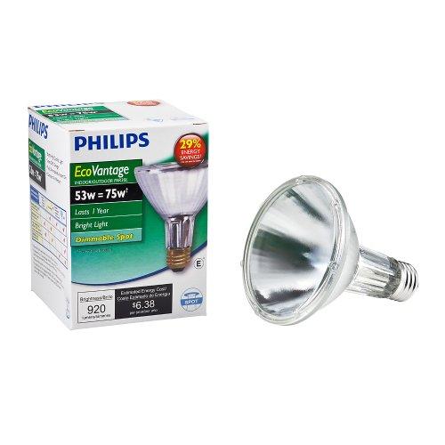 Philips 419564 Halogen PAR30L 75 Watt Equivalent 10 Degree Spot Light Bulb