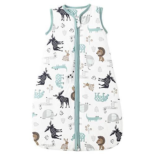 Mosebears Baby Winter schlafsack kinder schlafsack 2.5 Tog, Baby Schlafsäcke 100% Baumwolle für Verschiedene Größen von der Geburt bis zum Alter von 18 Monaten