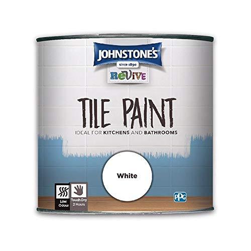 750ml Johnstones Revive Tile Paint White
