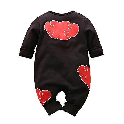 IURNXB Ropa de Bebé Cosplay Vestido Anime Recién Nacido Bebé Encantador Dibujos Animados Mameluco 6-9 Meses