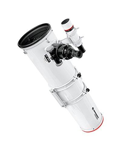 Bresser Teleskop Newton Spiegelteleskop Messier NT-203/1200 F6 optischer Tubus mit GP Prismenschiene, 8x50 Sucher und stabilem 2