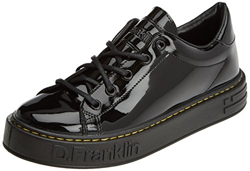 D. Franklin Gumme Patent Black, Zapatillas para Mujer