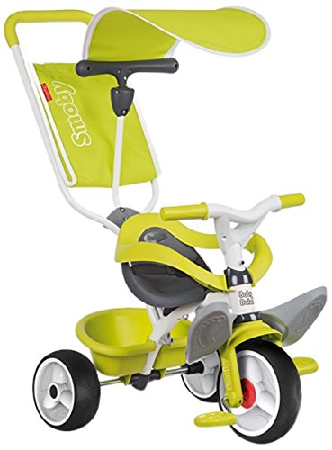 Smoby - 444192 - Baby Balade - Tricycle - Vert