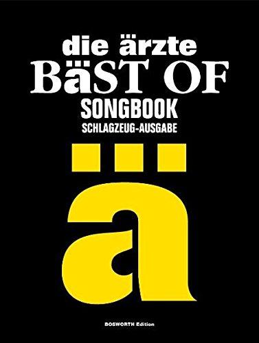 Die Ärzte - Bäst Of Drums (Songbook): Für Schlagzeug: BäSt of Songbook - Schlagzeug-Ausgabe
