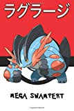 Mega Swampert: Laglarge ラグラージ Laggron Sumpex 대짱이 Pokemon Notebook Blank Lined Journal