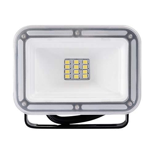 Viugreum Faretto a LED da 10W, IP67 Resistente all'acqua LED esterno, Luce Bianca 6500K, 800LM,Illuminazione per Parcheggio, Ingresso, Corridoio, Garage