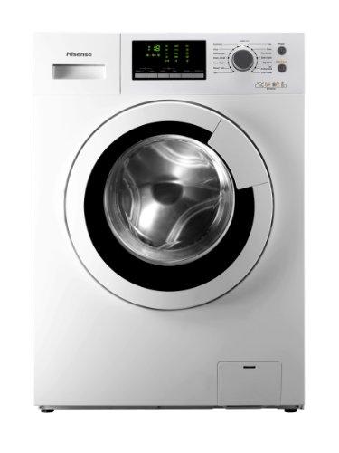 Hisense WFU6012 Waschmaschine FL / A++ /172,0 kWh/Jahr / 1200 UpM / 6 kg / 7990,0 L/Jahr / 360° Smart-Wash