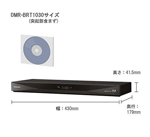『パナソニック 1TB 3チューナー ブルーレイレコーダー 4Kアップコンバート対応 DIGA DMR-BRT1030』のトップ画像