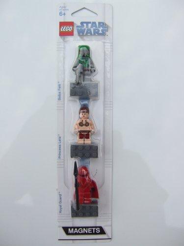 LEGO STAR WARS - 3 Minifiguras BOBA FETT - Royal GUARDIA - Princesa Leia