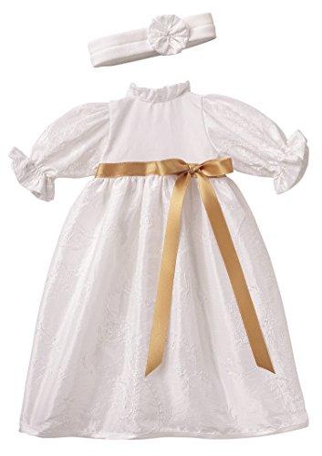Puppen Kleidung Taufkleid Stirnband für 30 - 33 cm Puppen Schwenk 62832