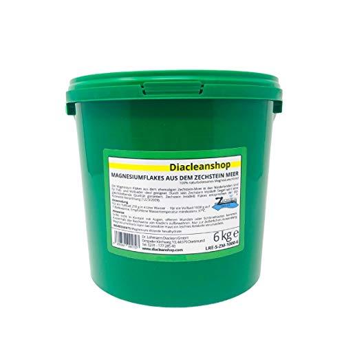 Zechstein Inside Magnesium Flakes 6kg aus dem Zechsteinmeer - Magnesiumkristalle aus Magnesiumchlorid - u.a. zur Herstellung von Magnesium Fußbad, Magnesium Vollbad uvm