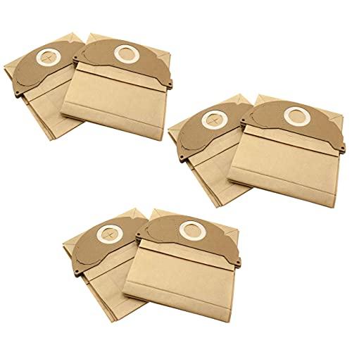 vhbw 30x bolsa compatible con Kärcher A2004, A2024 PT, A2054 ME, A2064 PT, MV 2, SE 2001, SE 3001 aspiradora - papel, marrón