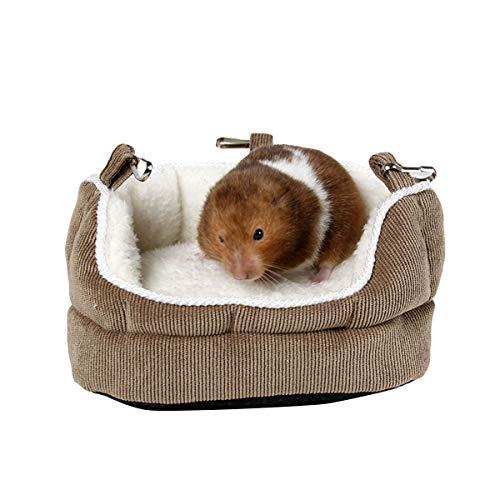 FAMKIT Hamster Sofa Nest Warm Detachable Washable Small Pet Cotton House Hammock