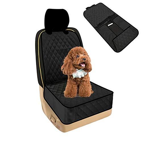 Protector Asiento Coche Perro Cubre Asientos Coche Perro Funda de Perro para Asientos de Coche Protector de Botas de Coche para Perro Black