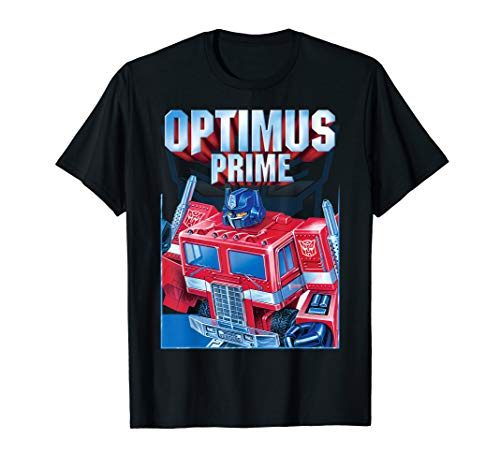 Transformers Optimus Prime Portrait T-Shirt