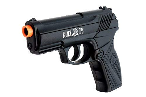 Black Ops BOA Semi Automatic Airsoft Pistol - C02 Powered Airsoft BB Pistol - Shoot 6mm BBs