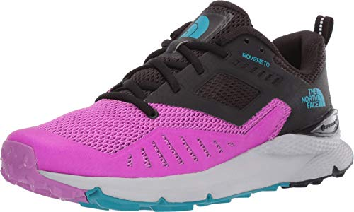 The North Face W Rovereto, Zapatillas de Running Mujer, Morado (Purplecactusflower/Tnfblk Gz5), 41 EU