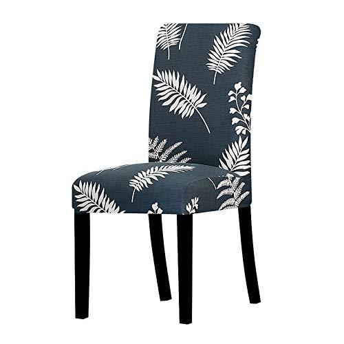 YGLONG Funda de silla impresa elástica antisucia, para bodas, fiestas, hogar, cocina, comedor, oficina, sala de estar, comedor y sillas