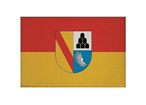 U24 Aufnäher Landkreis Emmendingen Fahne Flagge Aufbügler Patch 9 x 6 cm