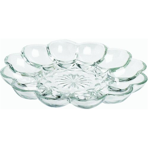 "Anchor Hocking Company 86148 10"" Presence Egg Plate"