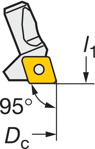 Sandvik Coromant 391.38l-2cc09 a cartridge voor fijn saai gereedschap