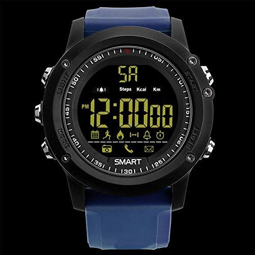Outdoor-Sportuhr - intelligente Uhr mit Langer Akkulaufzeit-Blue