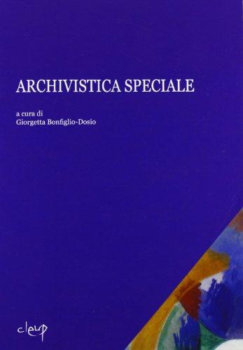 Archivistica speciale