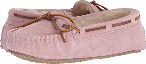 Minnetonka Damen Cally Kunstfell Slipper, Pink (pink blush), 37 EU