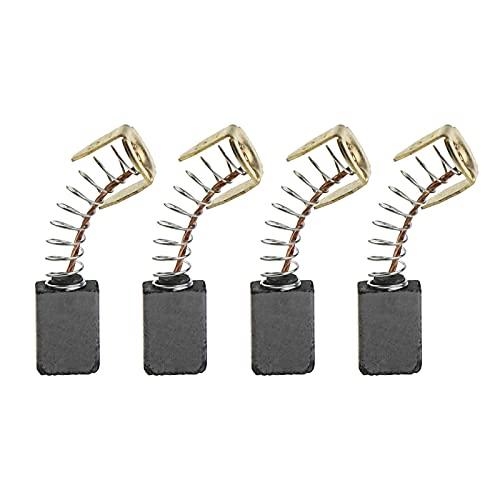 4 escobillas de carbón compatibles con MHT710 MHT 710 E13 accesorios de repuesto para cortacésped de herramientas eléctricas 12 x 8 x 5 mm