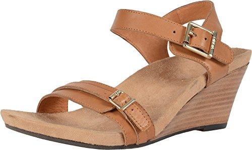 Vionic Noble Laurie Backstrap Sandal Tan 6M