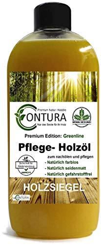 PROFI Pflegeöl Holzöl Holzschutz Tisch- und Möbelöl zum ölen Eiche Buche Teak öl (500ml.)