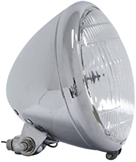 Bkrider 6 1/2 Springer Style Headlight Complete Assembly for FXWG Softail and Custom Harley Applications (C01086514)