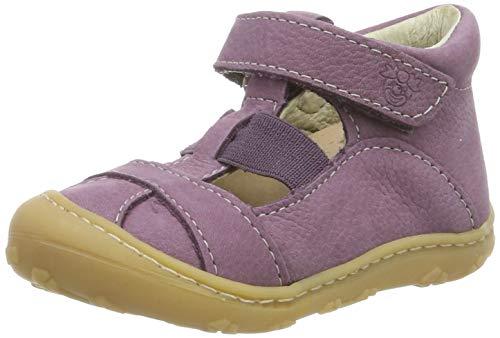 RICOSTA Mädchen Lani T-Spangen Sandalen, Pink (Purple 328), 21 EU