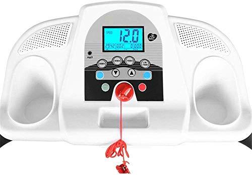 Xiaoyue Laufband Kleine Flüsterleises Stoßdämpfung Mini Weight-Loss Folding Laufband Indoor Sportgerät Einfache Bedienung lalay (Color : White, Size : 157x60x133cm)