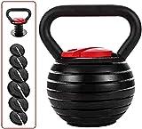 BAIRU Kugelhantel Kettlebells Fitness Kettlebell | Juego de Peso de Kettlebell Ajustable | Kettlebell Pesado para el Entrenamiento de la Fuerza Cardio