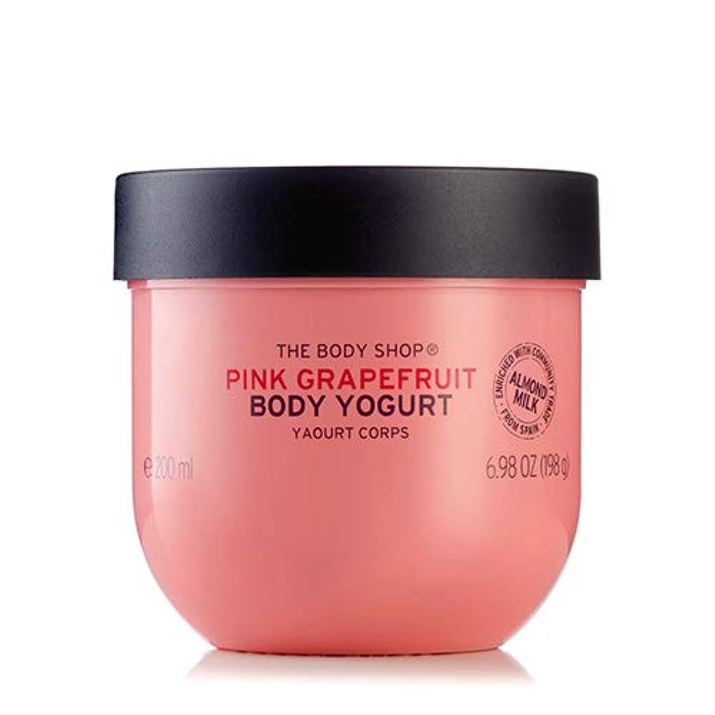 敬うるさい宇宙の正規品 ボディヨーグルト ピンクグレープフルーツ200ml THE BODY SHOP ザ?ボディショップ