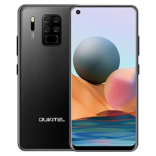 OUKITEL C18 PRO Handy Ohne Vertrag, 6,55-Zoll-HD+ LCD Display, 4GB RAM + 64GB Speicher(256 GB erweiterbar), Octa Core Android handy, 16-MP-Vierfach-Kamera, 4000 mAh Akku, 4G LTE Dual SIM Günstig Handy