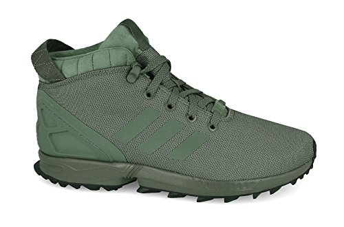 Adidas Herren ZX Flux 43228 TR by9434 Stiefel Gr. 44 grün