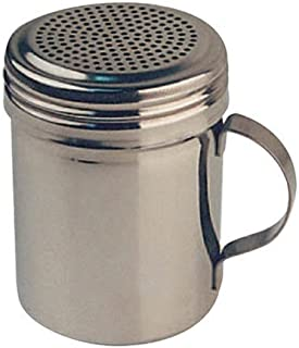 Winco - Winware Stainless Steel Dredges with Handle (10-Ounce) (3 pack)