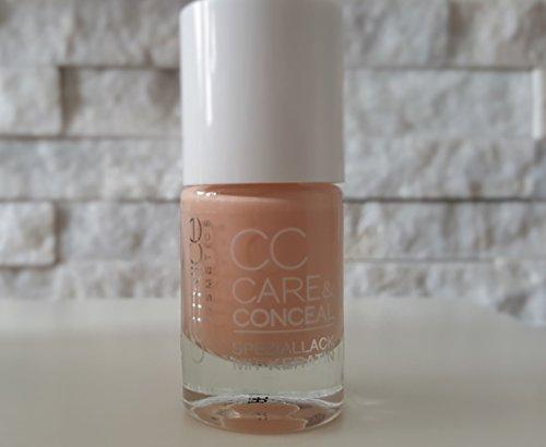 Catrice cosmectics CC Care & Conceal speziallack mit keratin, Vernis à ongles de couleur n°04 Apricot skin-fit, 10 ml, 0.33 fl.oz