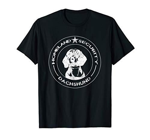 Homeland Security, Dackel, Dachshund, Jagdhund, Rettungshund T-Shirt